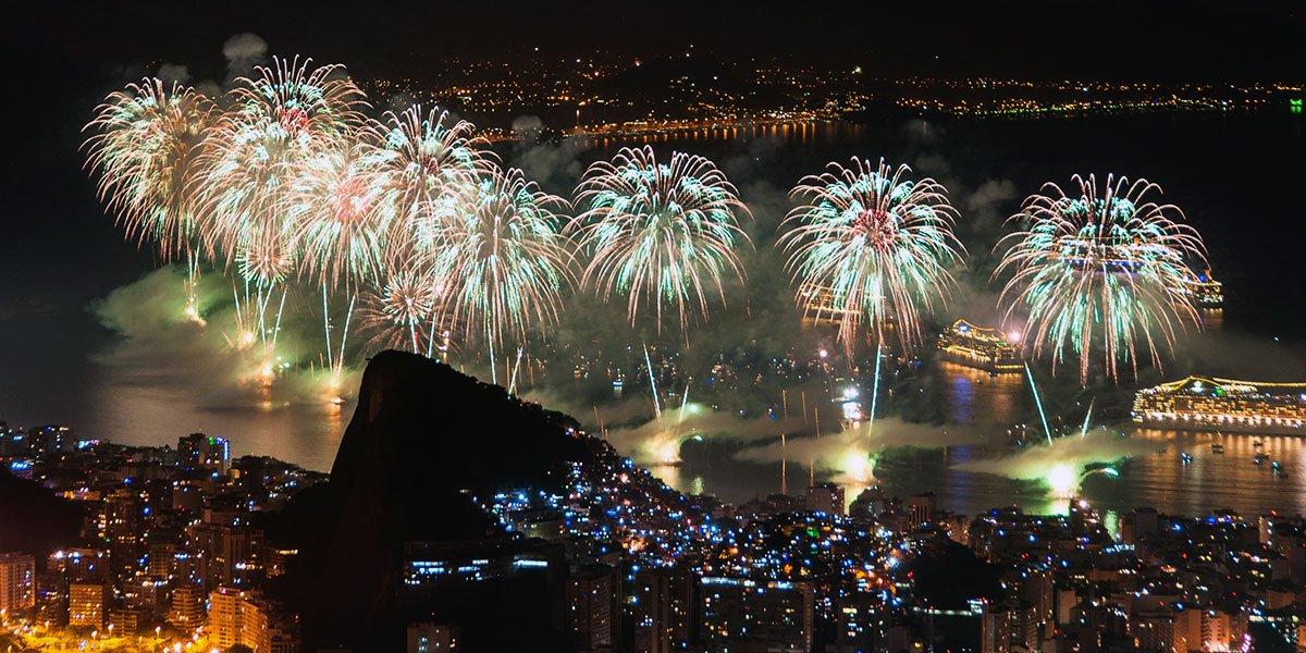 Nyår i Rio de Janeiro