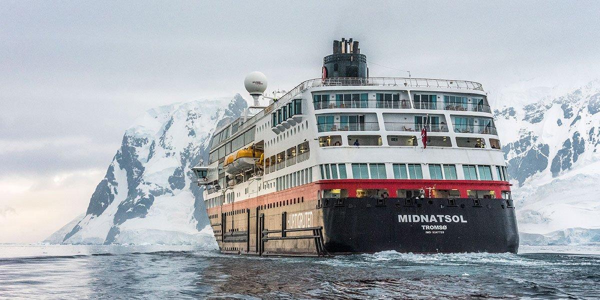 Antarktis med Hurtigruten