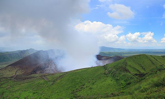 Masaya vulkan