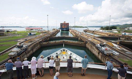 Silversea, Panamakanalen