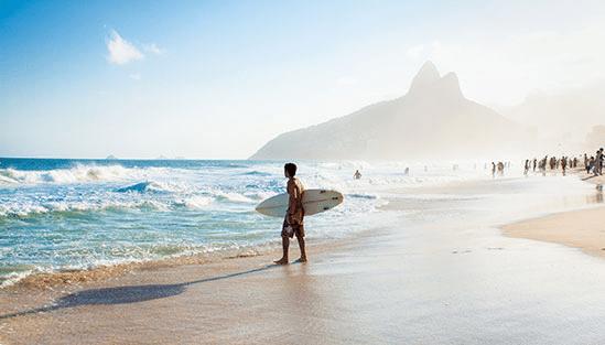 Rio de Janeiro stränder