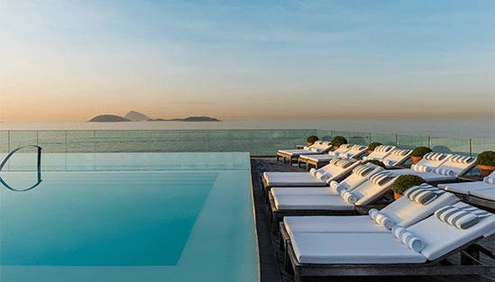 Hotel Fasano i Rio de Janeiro, Brasilien