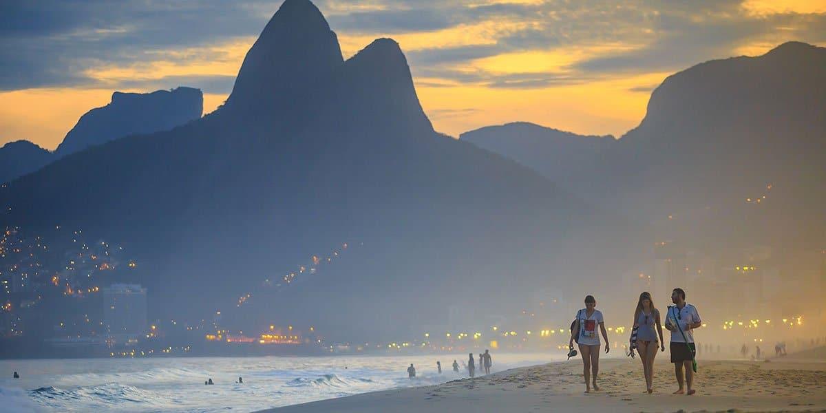 Rio i skymningsljus