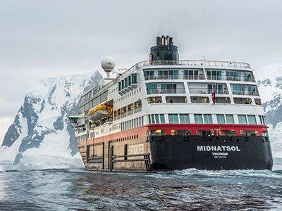 Antarktiskryssning med Hurtigruten