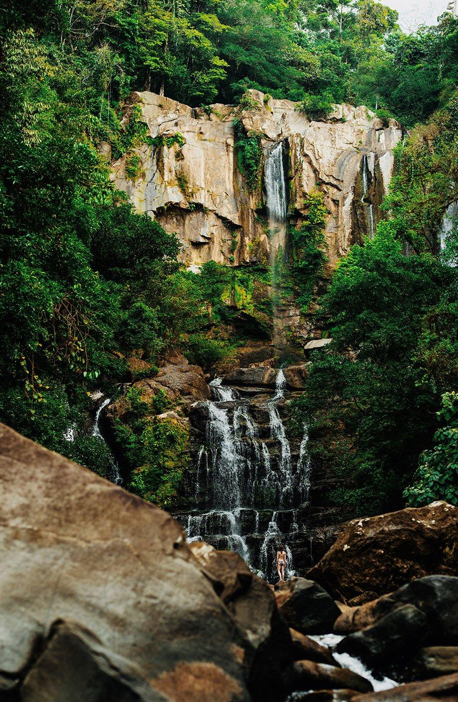 Vattenfall i Costa Rica, Foto av Nick Dietrich