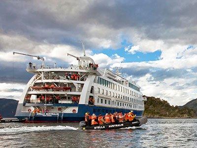 Patagonienkryssning med Australis