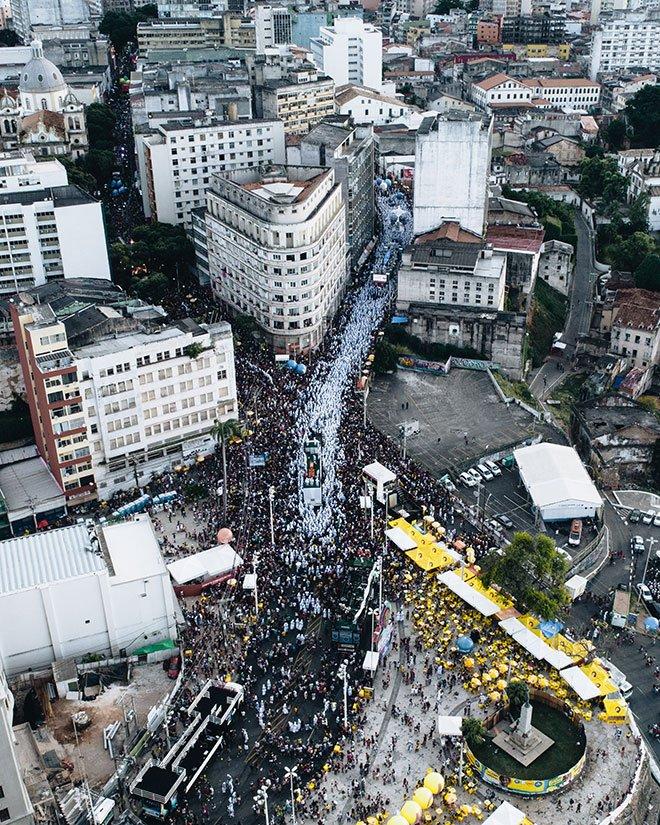 Karnavalen i Salvador, Brasilien