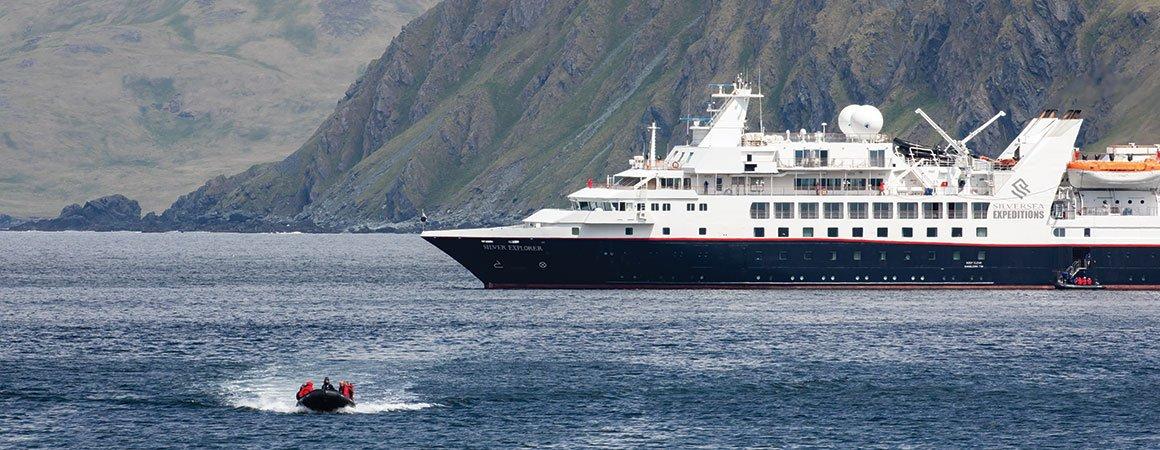 Expeditionskryssning till Patagonien med Silversea
