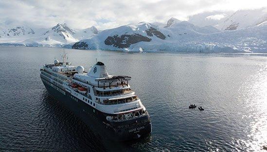 Kryssning med Silversea till Antarktis