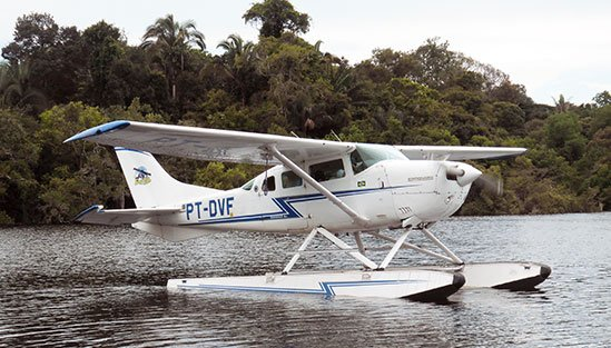 Flygtransfer till Amazon Lodge