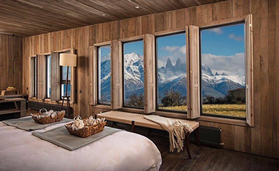 Awasi Patagonia, rumsbild