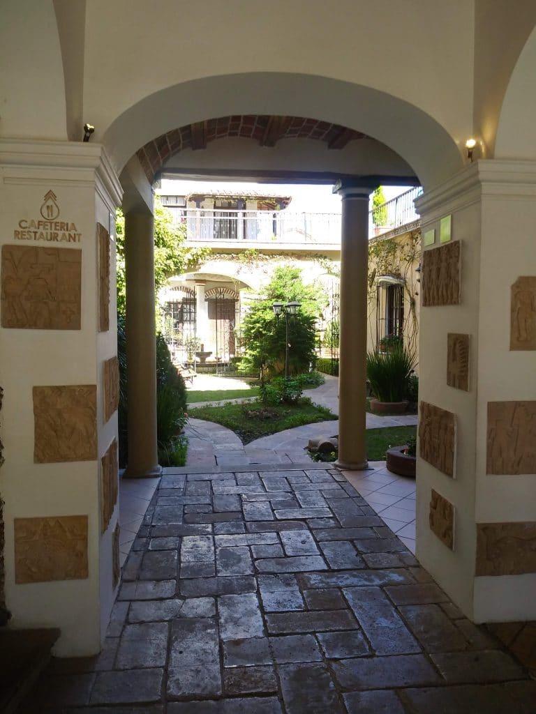 I Sucre finns många vackra byggnader.