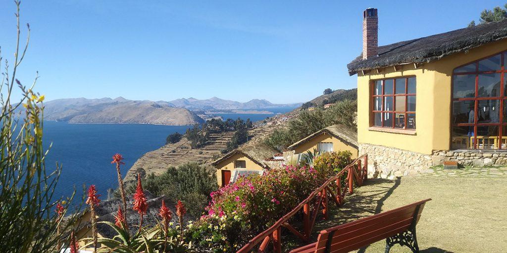 Utsikt från Estancia Eco Lodge