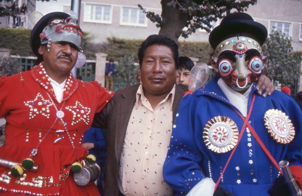 Deltagare i Karnevalen i Oruro