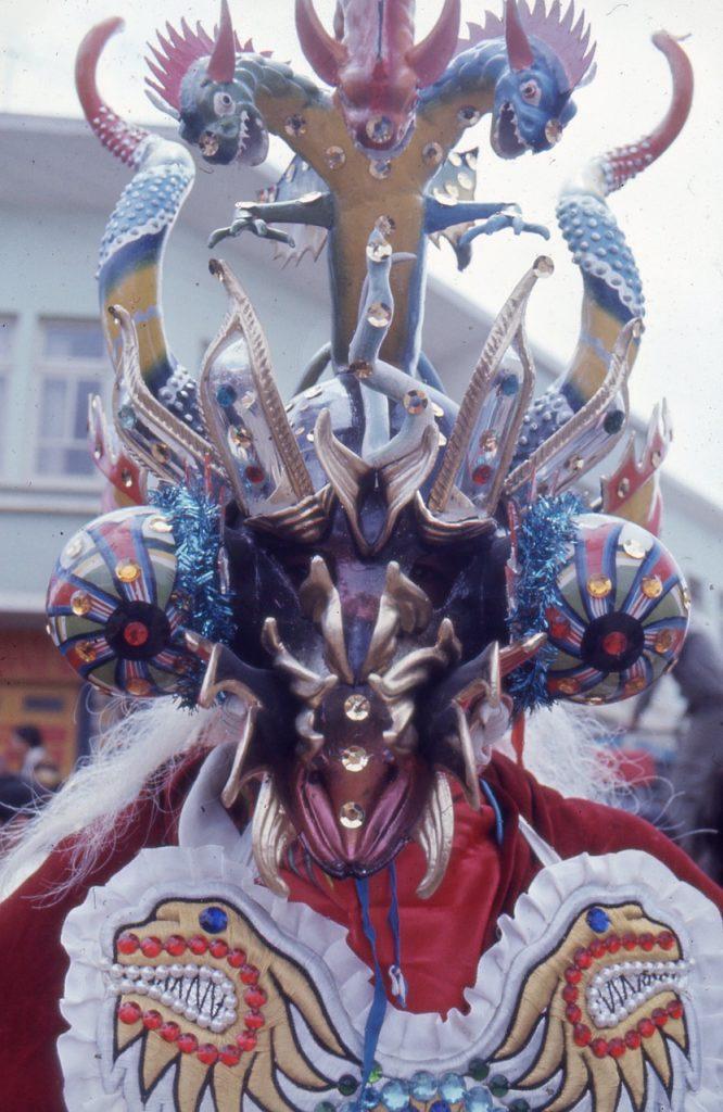 Maskeradkostym, karnevalen i Oruro