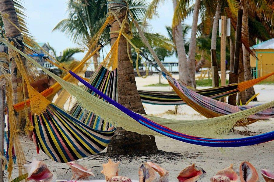 Ta det lugnt på Caye Caulker, Belize