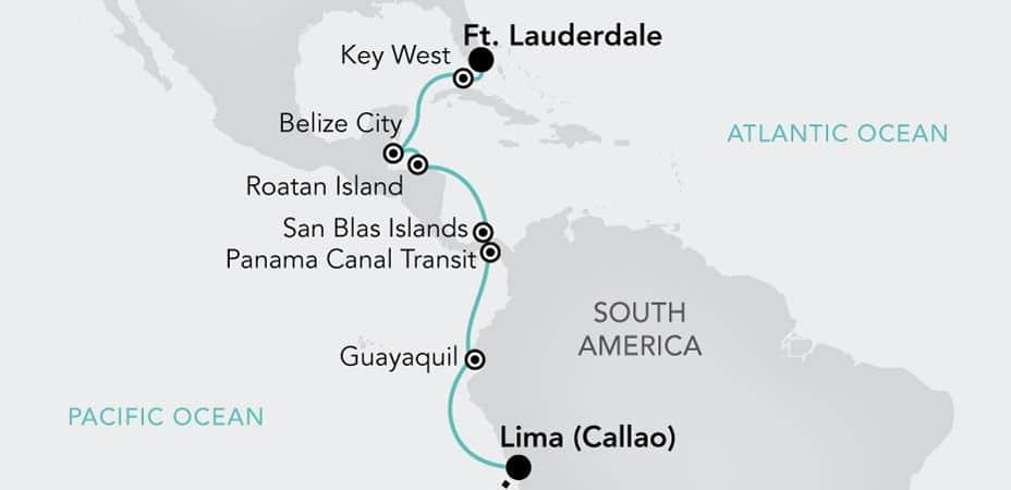 Fort Lauderdale till Lima