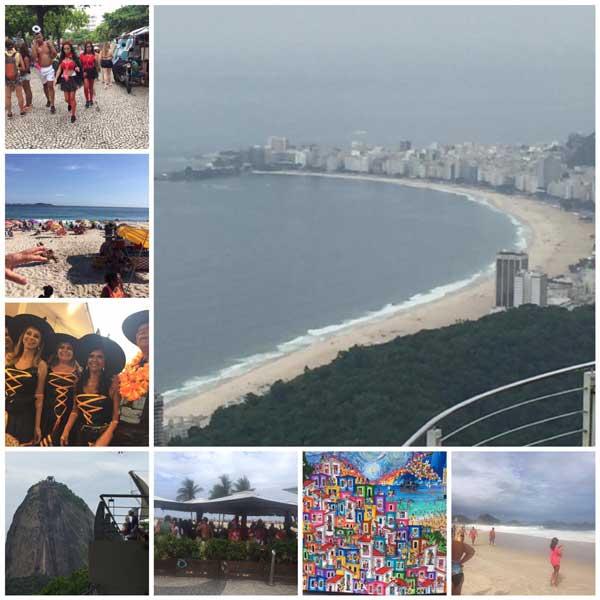 Minnen från resa till Brasilien och Argentina