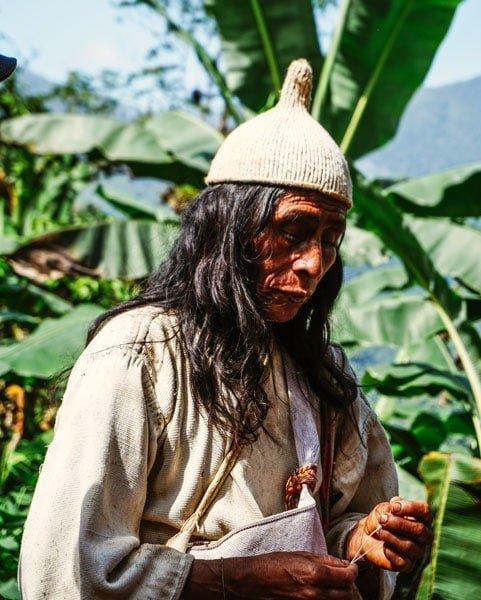 Kogui-indianernas spirituelle ledare