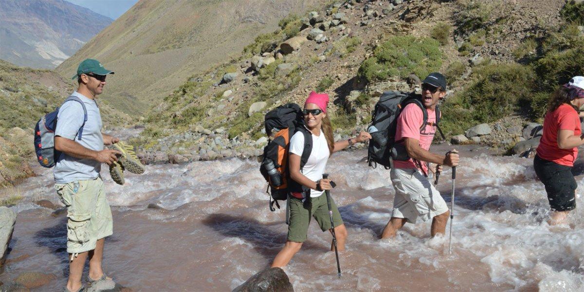 Vandring, Miraklet i Anderna