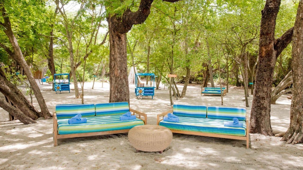 Andaz Peninsula Resort Beach-House-Lounge-Sofas