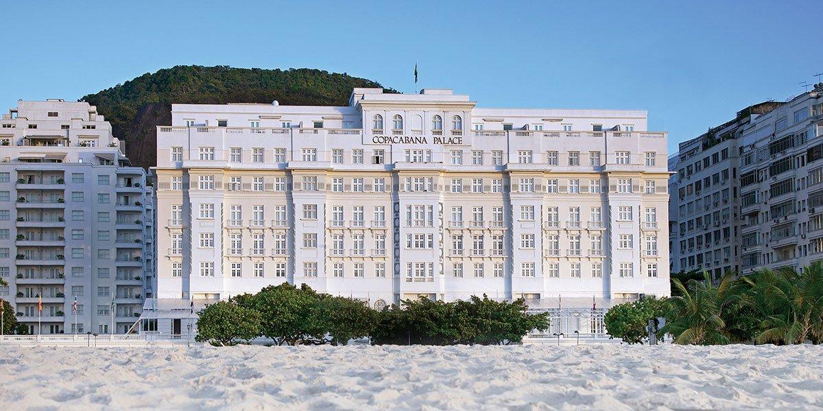 Copacabana Palace, Rio, Brasilien
