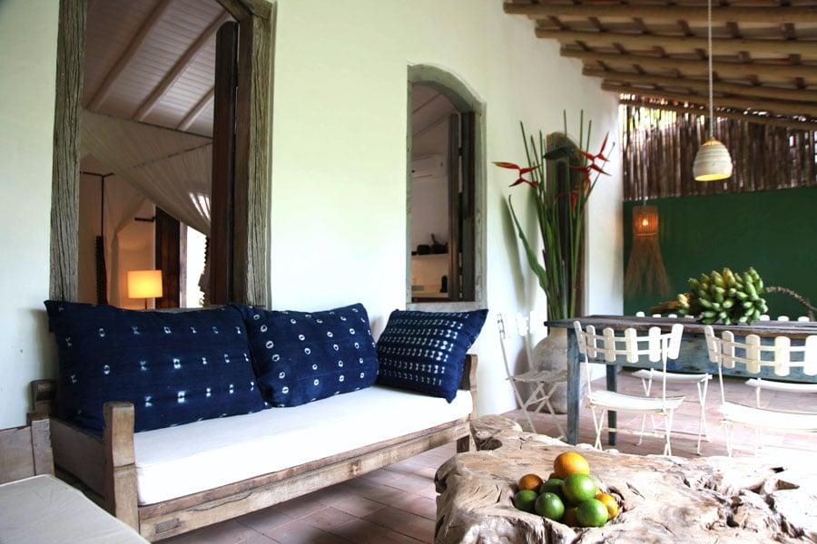 Uxua Casa Hotel & Spa, romantiskt hotell utanför Porto Seguro, Brasilien