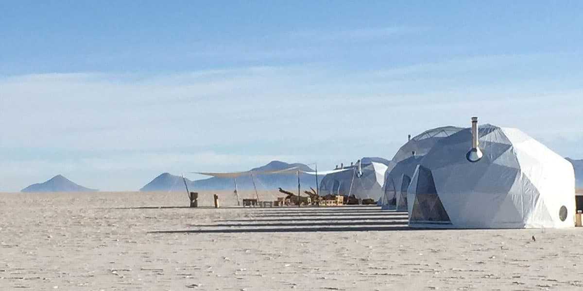 Kachi Lodge i Bolivias saltöken