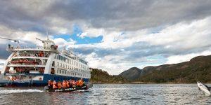 Kryssning i Patagonien