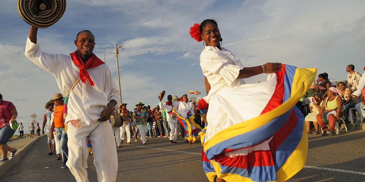 Karnevalen i Colombia