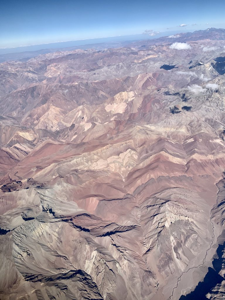 Flyg över Anderna