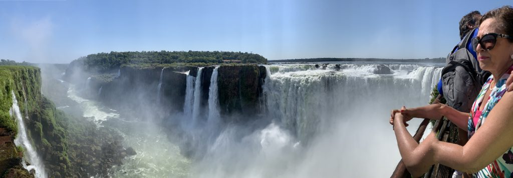 Vattenfallen i Iguazu