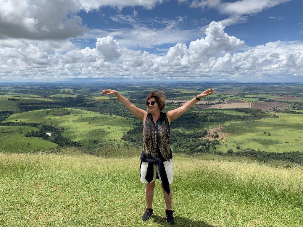 Minas Gerais vackra landskap