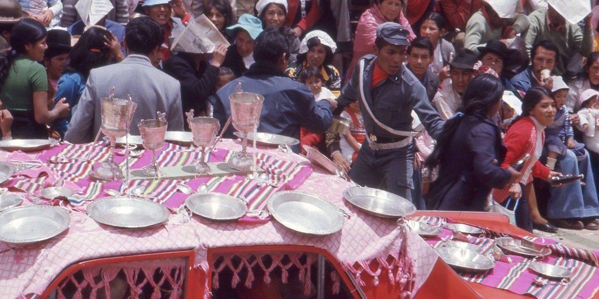 Bild från karvelane i Oruro, Bolivia